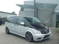 Mercedes Benz Viano, Mercedes Bus, Mercedes W114, Vanz, Car Painting, Camping, Camper Van, Cars And Motorcycles, Pickup Trucks