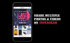 http://ift.tt/2mdKX8w to upload multiple Photos and Videos on Instagram on iPhone http://ift.tt/2m0fsNr  Last week Instagram announced the ability to share multiple photos and videos in one Instagrams post. Now the app has received an update on iOS that lets user to share multiple photos and videos on instagram. You can add upto 10 photos and videos in one post.  How to share multiple photos and videos on instagram on iPhone/iPad  When uploading to your Instagrams feed youll see a new icon…