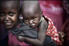 Maasai kids - Sinya, Tanzania - prb