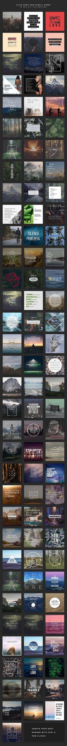MegaPack Social Media Banner by MinimalStudioCo on @creativemarket