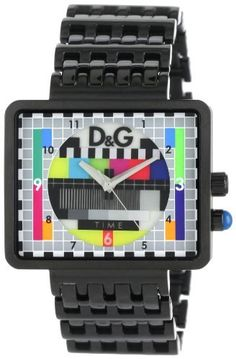 D Dolce   Gabbana Men s Medicine Man Ext TV Case Analog Backlight  Multicolor Dial Watch. Ger de Jong · D G watch eaa1c49b7af