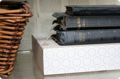 Love the idea of collecting old Bibles