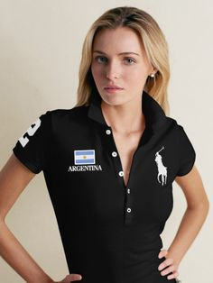 I vant. Nothing I like more than a Big Pony Polo with an Italian flag to boot. Classy Outfits, Pretty Outfits, Pretty Clothes, La Martina Polo, Popped Collar, Gentleman Style, Athletic Wear, Summer Tops, Skinny Fit