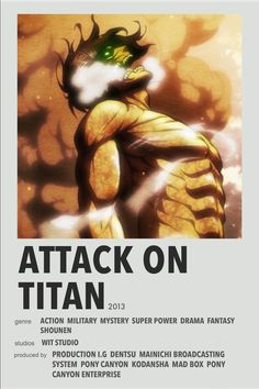 Attack On Titan minimal anime poster Posters Wall, Film Posters, Poster Prints, Poster Anime, Simple Anime, Japanese Poster Design, Anime Titles, Anime Reccomendations, Japon Illustration