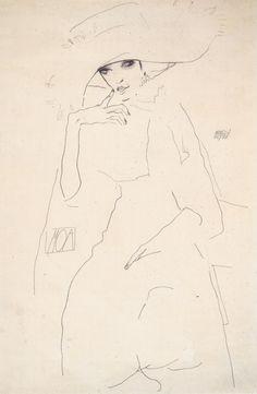 Egon Schiele  Bildnis der Tänzerin Moa (1911)