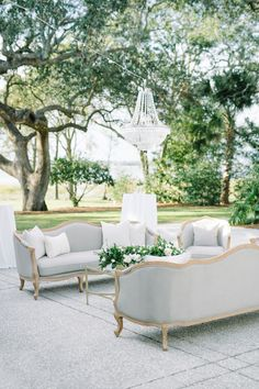 Floating chandelier is the perfect final touch for an outdoor setting Wedding Lounge, Outdoor Wedding Reception, Wedding Design Inspiration, Elegant Chandeliers, Event Services, Scenic Design, Outdoor Furniture Sets, Outdoor Decor, Outdoor Settings