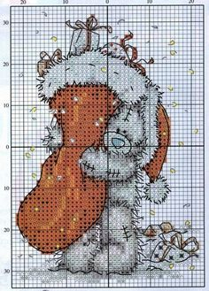 Christmas Tatty Teddy