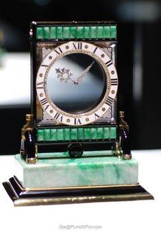 Cartier mystery clock...