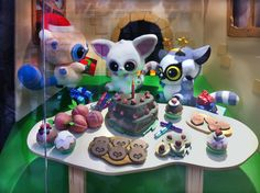 For Hamleys toy store window in London. I can't recall the brand I am afraid but the prop cakes I made for them were super cute! Brand Me, Toy Store, Stunts, Food Art, Super Cute, Window, Cakes, Toys, Creative