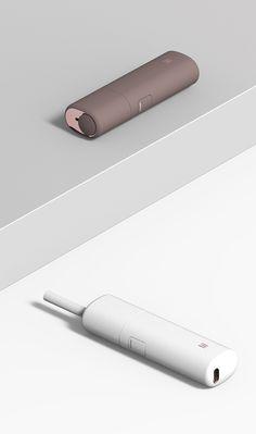 Lil / Electronic Cigarette / 2017 KT&G Product Design / JiyounKim Studio / www.jiyounkim.com