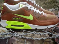 big sale 06b6a 13c93 Sneakers de collection – Nike Air Max 90 Umber   Volt Birch — Sneakers-actus