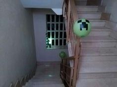 Minecraft Camino a la fiesta....
