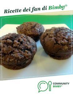 Muffin al cioccolato morbidissimi è un ricetta creata dall'utente Team Bimby. Questa ricetta Bimby<sup>®</sup> potrebbe quindi non essere stata testata, la troverai nella categoria Prodotti da forno dolci su www.ricettario-bimby.it, la Community Bimby<sup>®</sup>. Dessert Recipes, Desserts, Macarons, Brunch, Cookies, Chocolate, Pizza, Breakfast, Cannoli