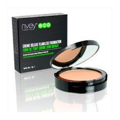 Maquillaje Compacto Orgánico, de larga duración, con ingredientes ecológicos y 100% naturales aporta una cobertura perfecta total a tu rostro, sin sensación grasa.http://belleza.tutunca.es/maquillaje-compacto-organico-deluxe-nvey-eco