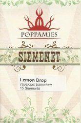 Poppamies Lemon Drop Siemenet 15kpl