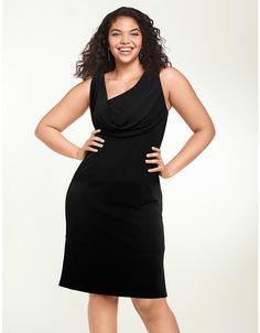 Drape Front Dress by Isabel Toledo | Lane Bryant