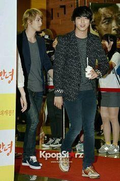 Jong Hyun and Yonghwa