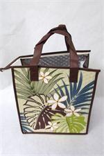 Tropical Paper Garden Hot & Cold Reusable Bag Waokele