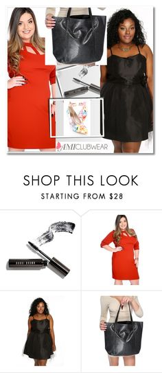 """""""Plussize with Amiclubwear (19/V)"""" by albinnaflower ❤ liked on Polyvore featuring Bobbi Brown Cosmetics"""