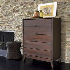 Steppe 5-Drawer Chest in Dressers & Chests | Crate and Barrel