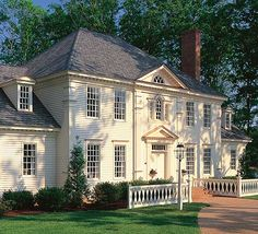 Tradition At Its Best - 32503WP | Colonial, Traditional, Luxury, Photo Gallery, Premium Collection, 1st Floor Master Suite, Bonus Room, Butler Walk-in Pantry, Den-Office-Library-Study, Media-Game-Home Theater, Multi Stairs to 2nd Floor, PDF, Corner Lot | Architectural Designs