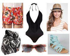 Swimsuit-Monokini #17college