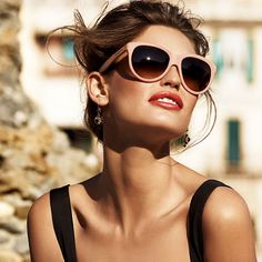 Italian fashion photographer Giampaolo Sgura shoots the stunning Italian beauty Bianca Balti for the latest Dolce & Gabbana eyewear ads. Bianca Balti, Dolce And Gabbana Eyewear, Dolce E Gabbana, Cat Sunglasses, Sunnies, Summer Sunglasses, Sunglasses Women, Stylish Sunglasses, Luxury Sunglasses