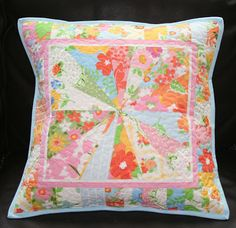 lovely little handmades: simply starburt~ a pillow!