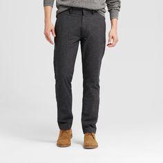 Men's Slim Fit Trouser Pants - Goodfellow & Co Slate Blue 30X32