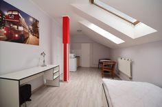 Praha, krásný zařízený byt k pronájmu 1+kk (20m2), ulice Cimburkova, Žižkov, po kompletní rekonstrukci