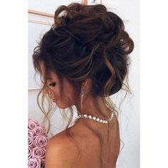 42 Sophisticated Prom Hair Updos | LoveHairStyles.com ❤ liked on Polyvore featuring beauty products, haircare, hair styling tools, hair, hairstyles, hair styles and beauty