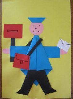 Znalezione obrazy dla zapytania thema postbode knutselen