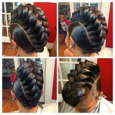 Hairstyle like this..... good for only that night, how would you sleep to keep the style????  #howsway