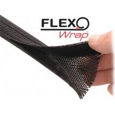Flexo Wrap kabelhoes https://www.kabelsenmeer.nl/kabels-wegwerken/kabelbinders-bundelaars/kabel-hoezen kabelhoezen koop je via kabelsenmeer.nl