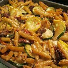 Penne Pasta with Veggies Allrecipes.com