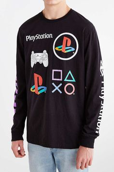 playstation long sleeve tee - Recherche Google