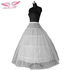 AnXin SH apannier Enagua del vestido De Boda vestido de novia vestido enaguas 3 círculo Al Azar envía Puede utilizar en el interior