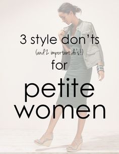 Petite Style Fashion Tips, including where to shop!