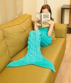 Mermaid Tail KNITTING Pattern Children's and by MSDesignPatterns