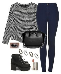 """""""Untitled #996"""" by noellexox ❤ liked on Polyvore featuring Monki, Topshop, Nanda Home, Givenchy, ASOS, Urban Decay and Ilia"""
