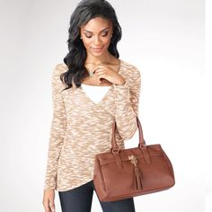 """On The Fringe Satchel 