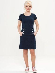 0db1161604d6 Lola MADEMOISELLE YEYE Retro 60s Sailor Girl Dress