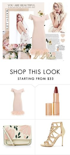 """Get the Look: Fave Aussie Actress!"" by sharoncrotty ❤ liked on Polyvore featuring Charlotte Tilbury, Accessorize, Sergio Rossi and GetTheLook"