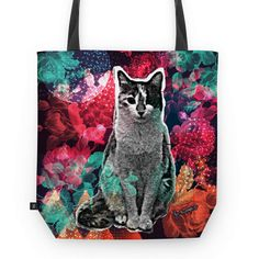 Bolsa Cosmic Kitty de @jurumple | Colab55