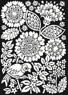 Free African Design Coloring Pages