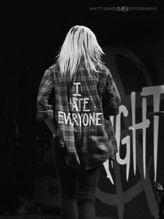 I Hate Everyone Flannel (Jenna McDougall - Tonight, Alive by Matt Ginzel on Flickr.)