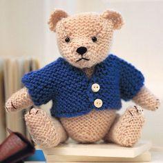 Try Our Smart Teddy Bear Knitting Pattern prima.co.uk