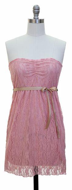 #coral #lace #dress $15