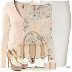 Soft color- love the skirt!
