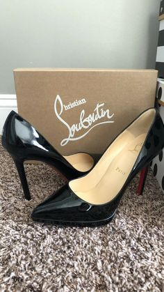 8240a953f185 Christian Louboutin Pigalle Plato Size 38  fashion  clothing  shoes   accessories  womensshoes